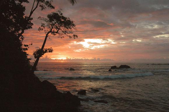 Tramonto in Costarica