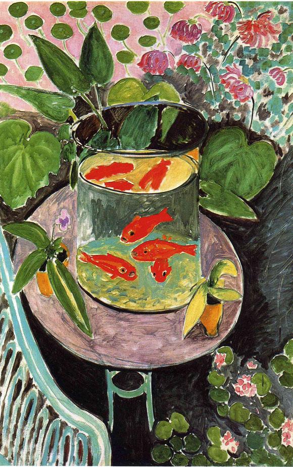 アンリ・マティス「金魚」(1912年)