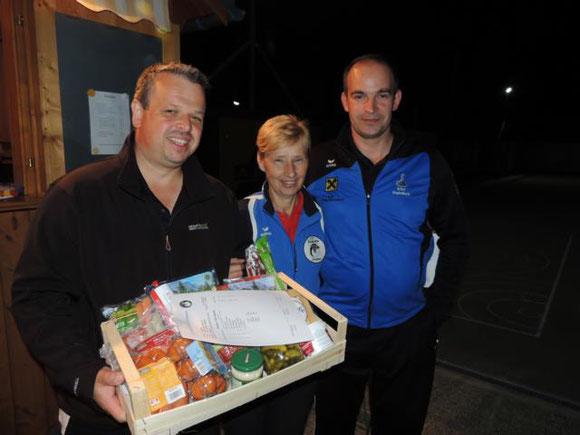 Sieger des Duoturniers: ESV Hainfeld mit Gartner Franz und Huber Günther