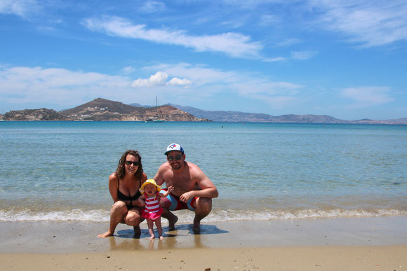 Fira Santorini Greece With Baby