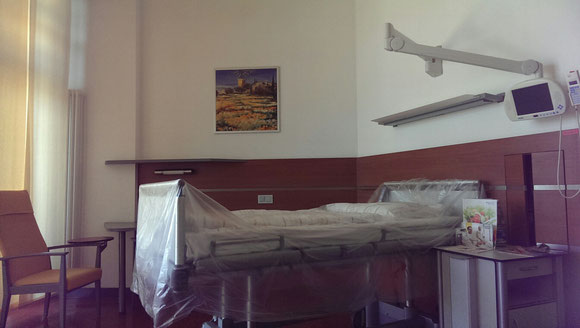 Bild: Krankenhaus-Bett