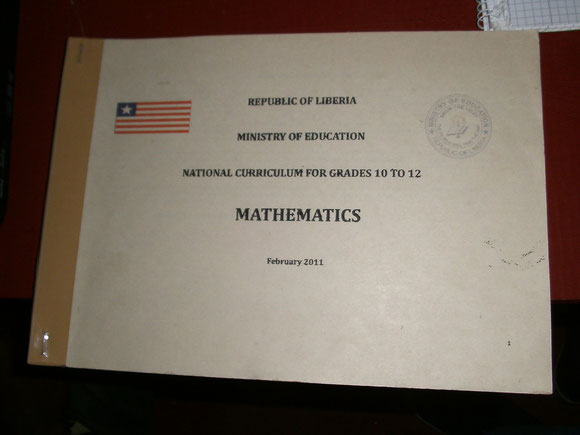 National Curriculum Mathematics Liberia
