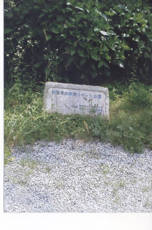 ご隠居曲輪(現御隠居曲輪南スポット公園)周辺
