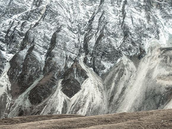 Landschaft abstrakt, Nepal
