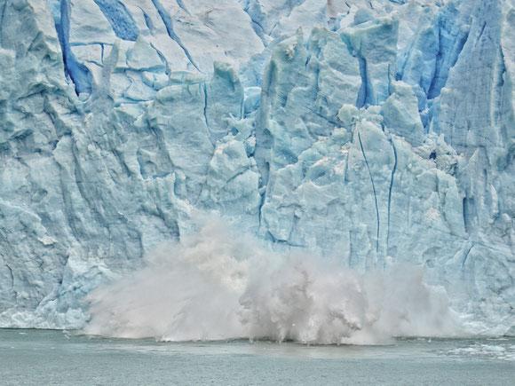 Am Spegazzinigletscher, Lago Argentino