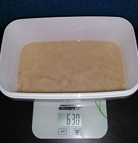Paniermehl 250 Gramm Zuchtansatz 50 Gramm und 330ml Wasser
