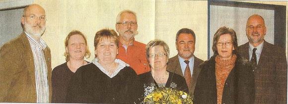 Kooperationsvertrag geschlossen (v. li.): Gerhard Boll, Christin Rühmann,  Anja Meyn, Wolfgang Ohrt, Kirsten Kentschke und Johann Hansen.