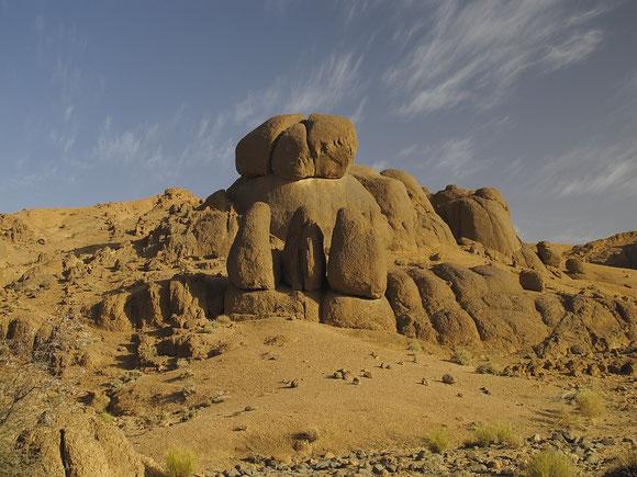 Paysage du Hoggar Algérien