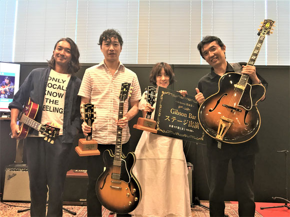 Jazz Guitar Contest 2019(G-Club Tokyo × jazzLife sponsored by Gibson)-2
