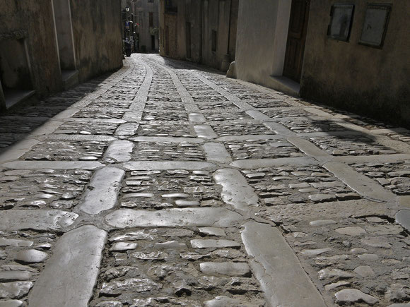 Gasse in Erice