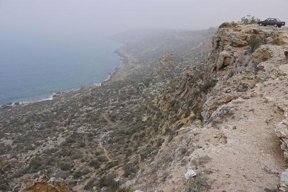 Steilküste nördlich von Safi