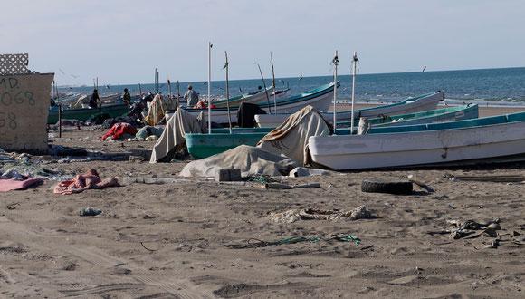 die Menschen hier leben wirklich noch vom Fischfang
