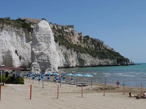 Strand bei Vieste
