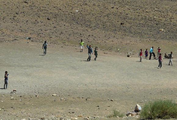 Fussballplatz der Dorfjugend