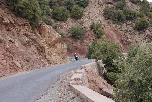 Im Tal dann auch mal wieder schnelle Passagen.