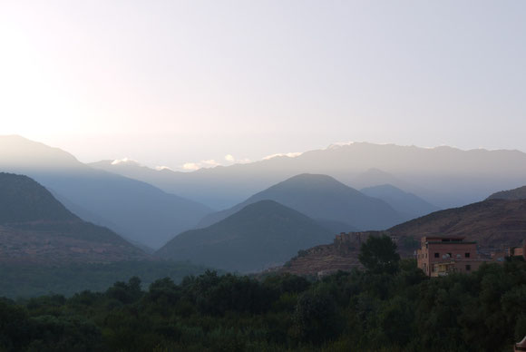 Blick ins Tal, Richtung Toubkal