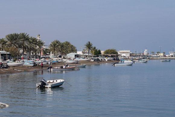 der Fischereihafen von Seeb