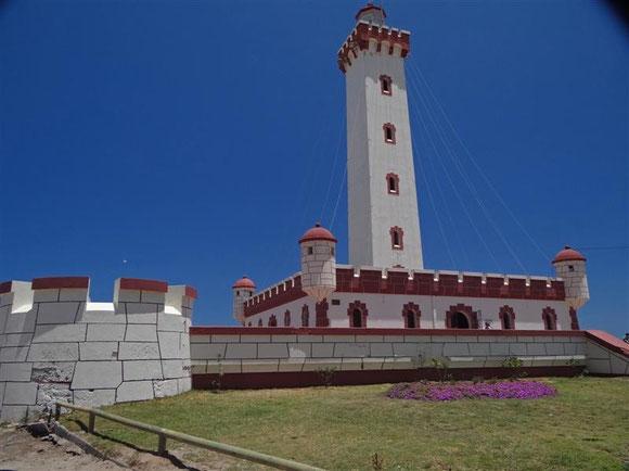 Das Wahrzeichen La Serenas, der Leuchtturm