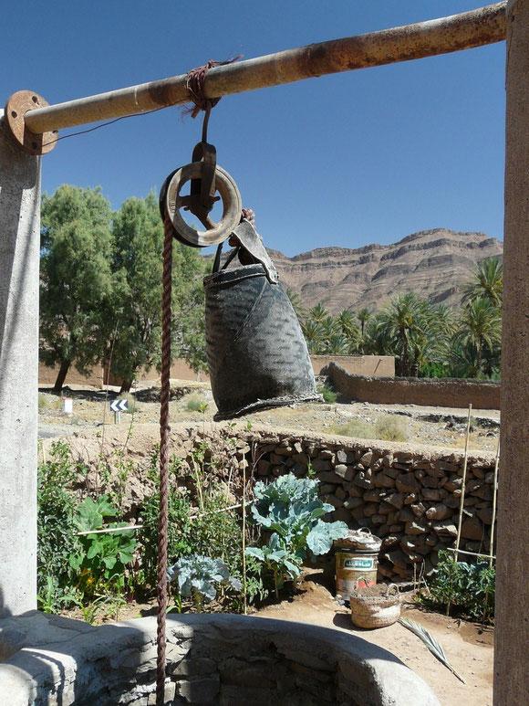 Ziehbrunnen sichern auch heute noch die Wasserversorgung