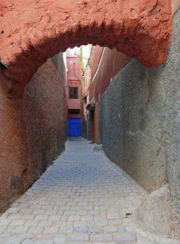 Am nächsten Morgen machen wir uns auf, die Medina zu erkunden.