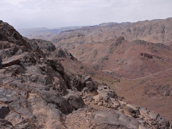 Passhöhe des Tizi-n Tazazert