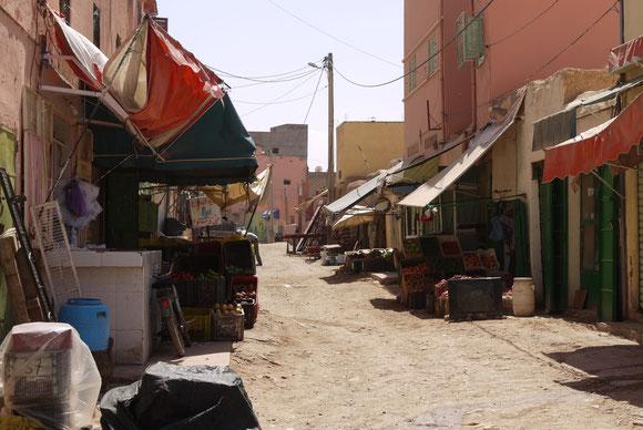 Nebenstraße in Sidi Mokhtar