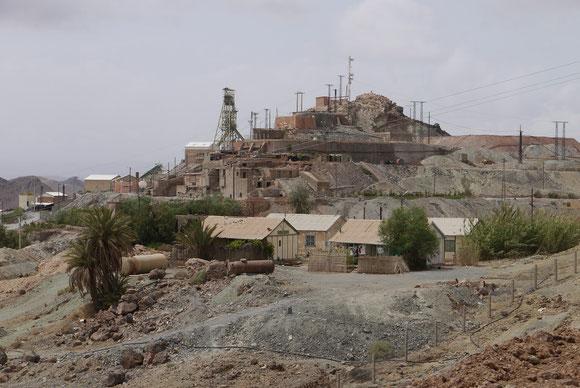 Das Bergbaugebiet an der R 108