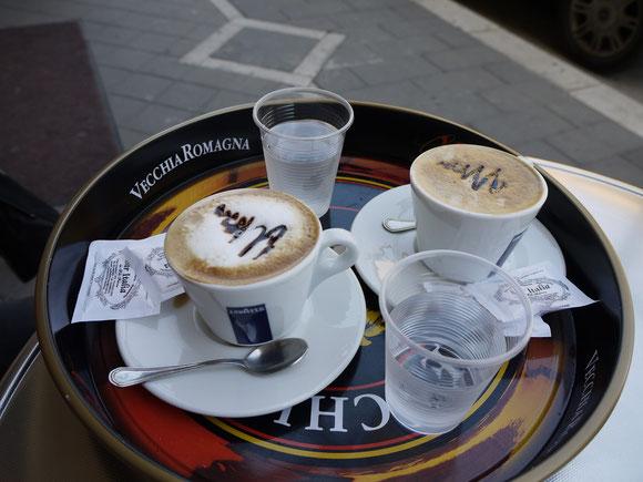 angekommen in Italien :-) gerichtet von einer temperamentvollen Sizilianerin made in Deutschland