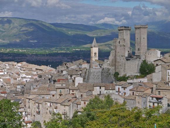 Pacentro, Lieblingsort der elchin in Mittelitalien