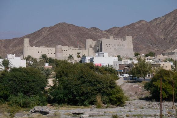 Relikt aus der Zeit, als hier das Kernland des Omans lag und gegen fremde Eroberer verteidigt werden musste.