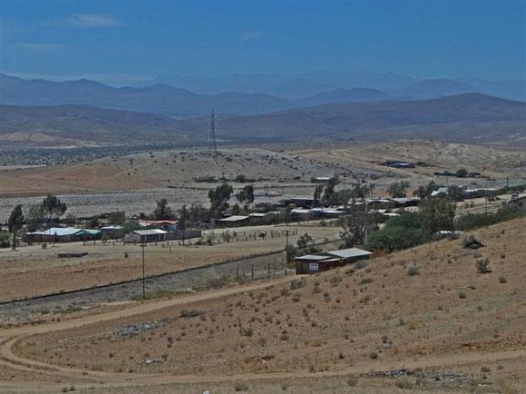 Ein kleiner Minenort hinter La Serena