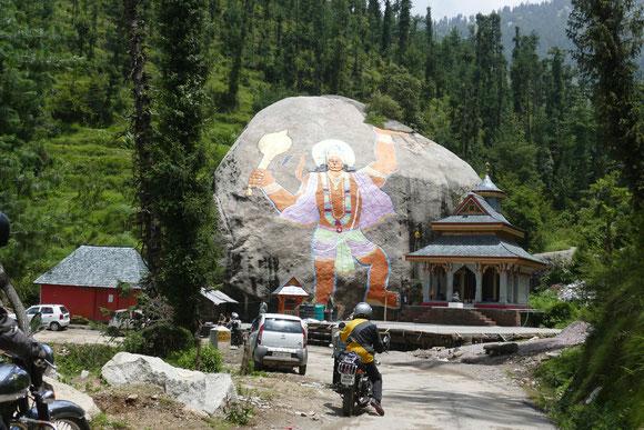 Eine weitere hinduistische Pilgerstätte