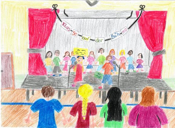 Gewinnerbild von Maja Grimm - Klasse 4a - KLASSE auf der Bühne