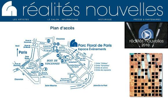 salon RN 2014 - Plan d'accès