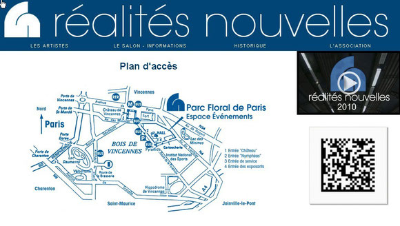 salon RN 2013- Plan d'accès
