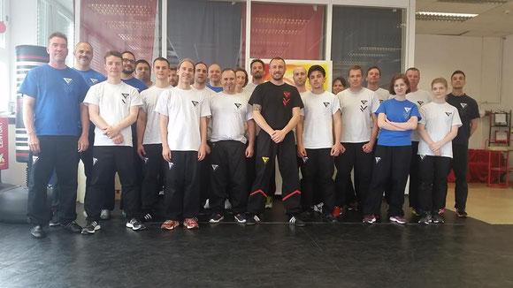 Wing Tsun Selbstverteidigung Ludwigsburg - Seminar 11. Juni 2016