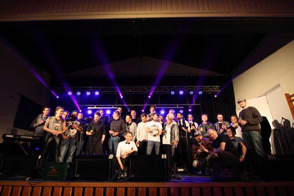 Die teilnehmenden Bands 2017