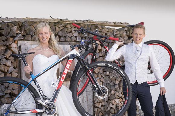 Mountenbike Hochzeit im Oberallgäu