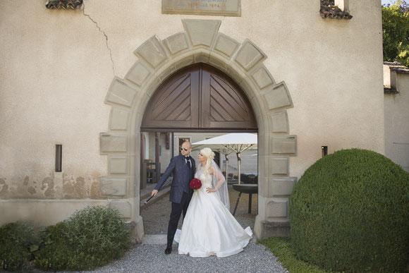 Hochzeitsfotograf am Schloss Seeburg am Bodensee