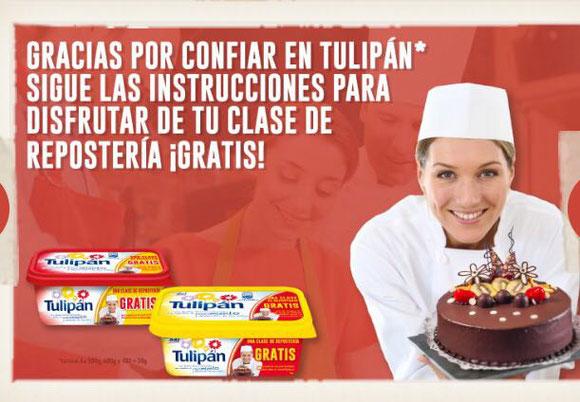clase de repostería con Tulipan gratis . Reposteria gratis  en Cartagena y Murcia