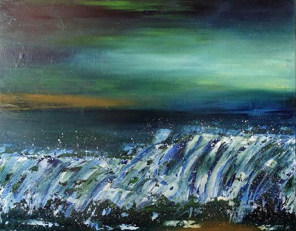 Abstralte Malerei von Florina Weidmann