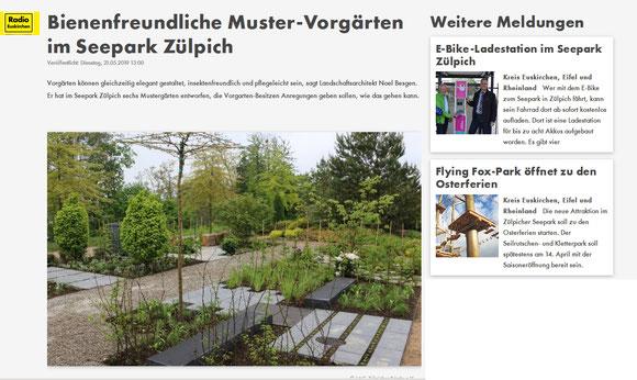Pressemitteilung Radio Euskirchen I Mai 2019