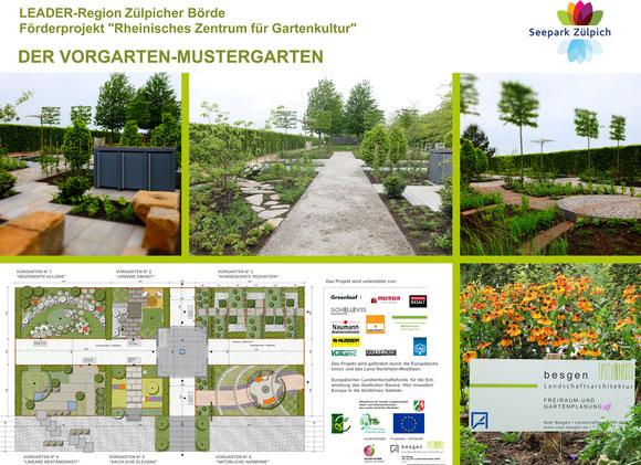 Eröffnung VorgartenMustergarten Mai 2019! I Planungskonzeption
