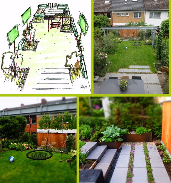 Entwurfsskizze I Garten-Perspektiven