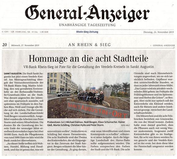 Artikel Kölnische Rundschau vom 24/05/2019