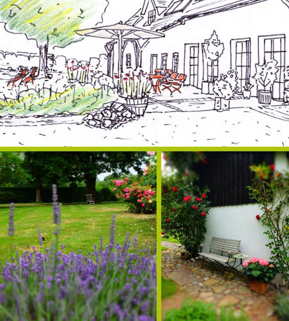Sommer-Impressionen Landhausgarten I Sankt Augustin