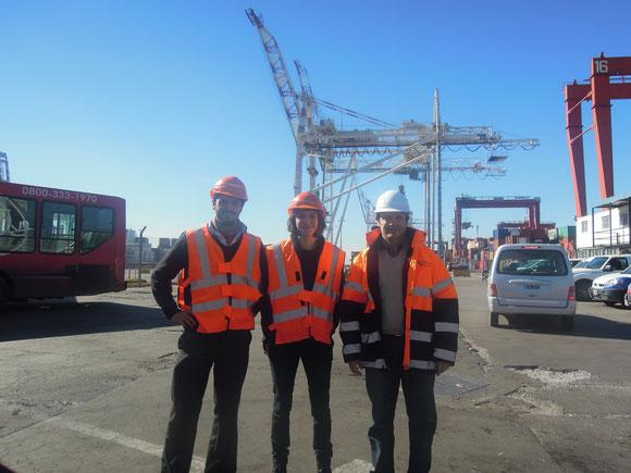 Avec le CEO des terminaux portuaires de BsAs