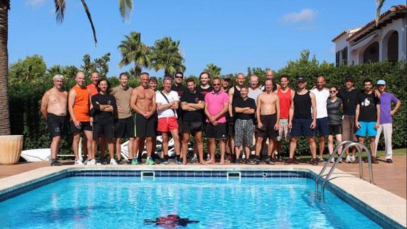 Gruppenbild Menorca 2013