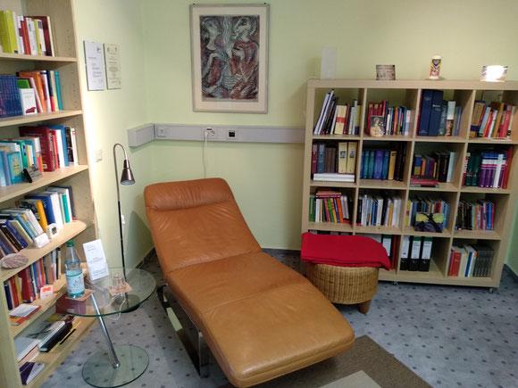 Praxisraum der Praxis für Psychotherapie Barbara Schlemmer Dipl. Psychologin
