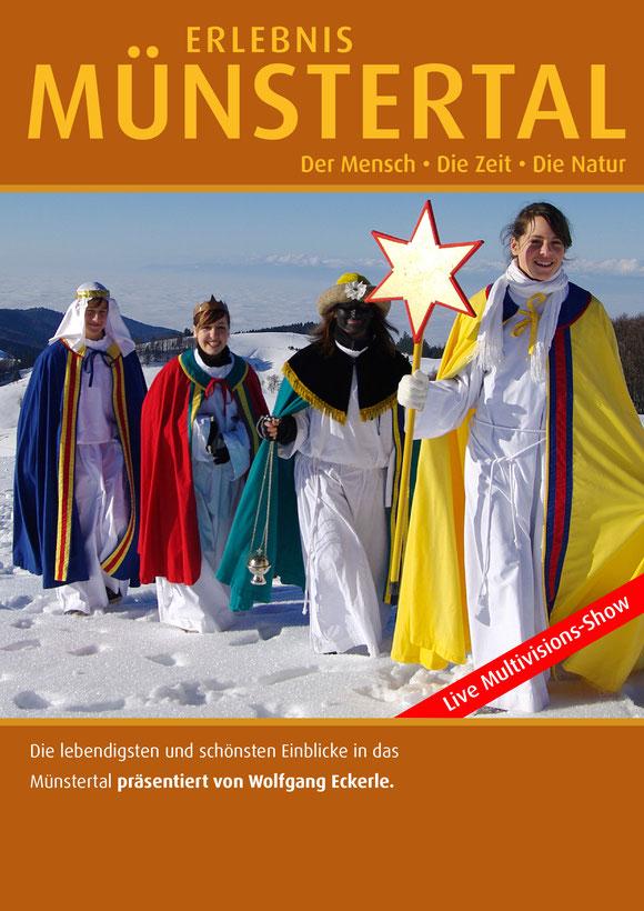 Dreikönige im Münstertal unterwegs